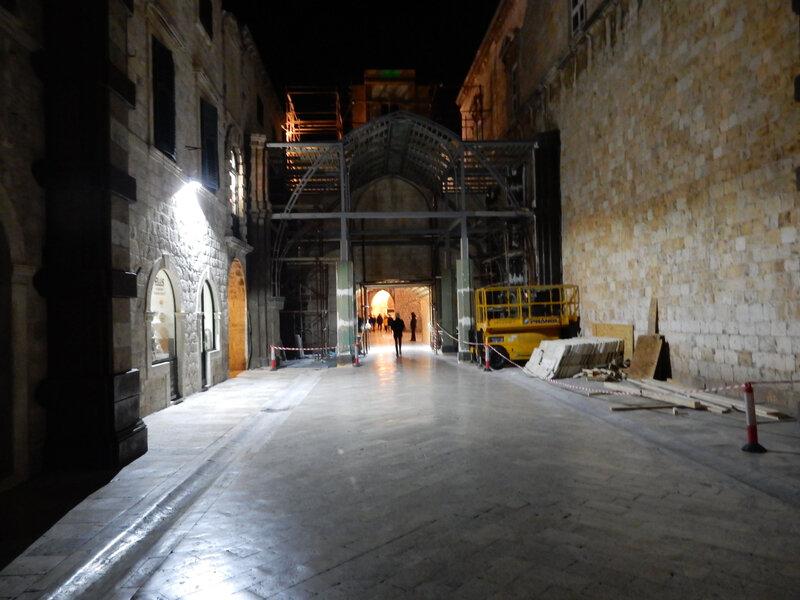 Dubrovnik, décors de