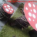 Aménagement du balcon: table et chaises champignon!! tuto