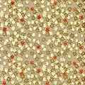 papier-fantaisie-decora-sake-lin-motifs-rouge-vanille-or