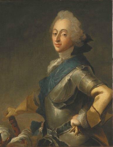 Carl Gustav Pilo, Portrait of King Frederik V of Denmark, Photo © Erik Cornelius, Nationalmuseum, Stockholm