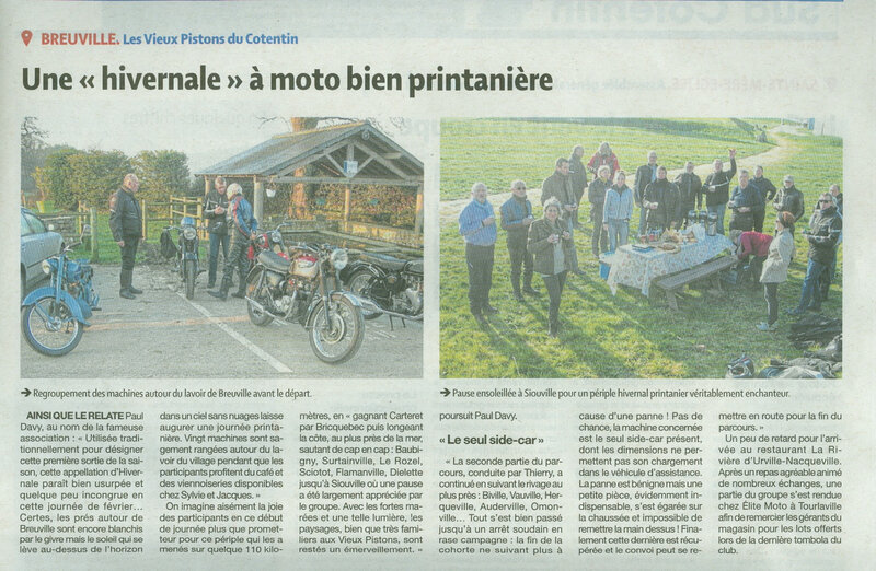 Article Presse Hivernale 2019