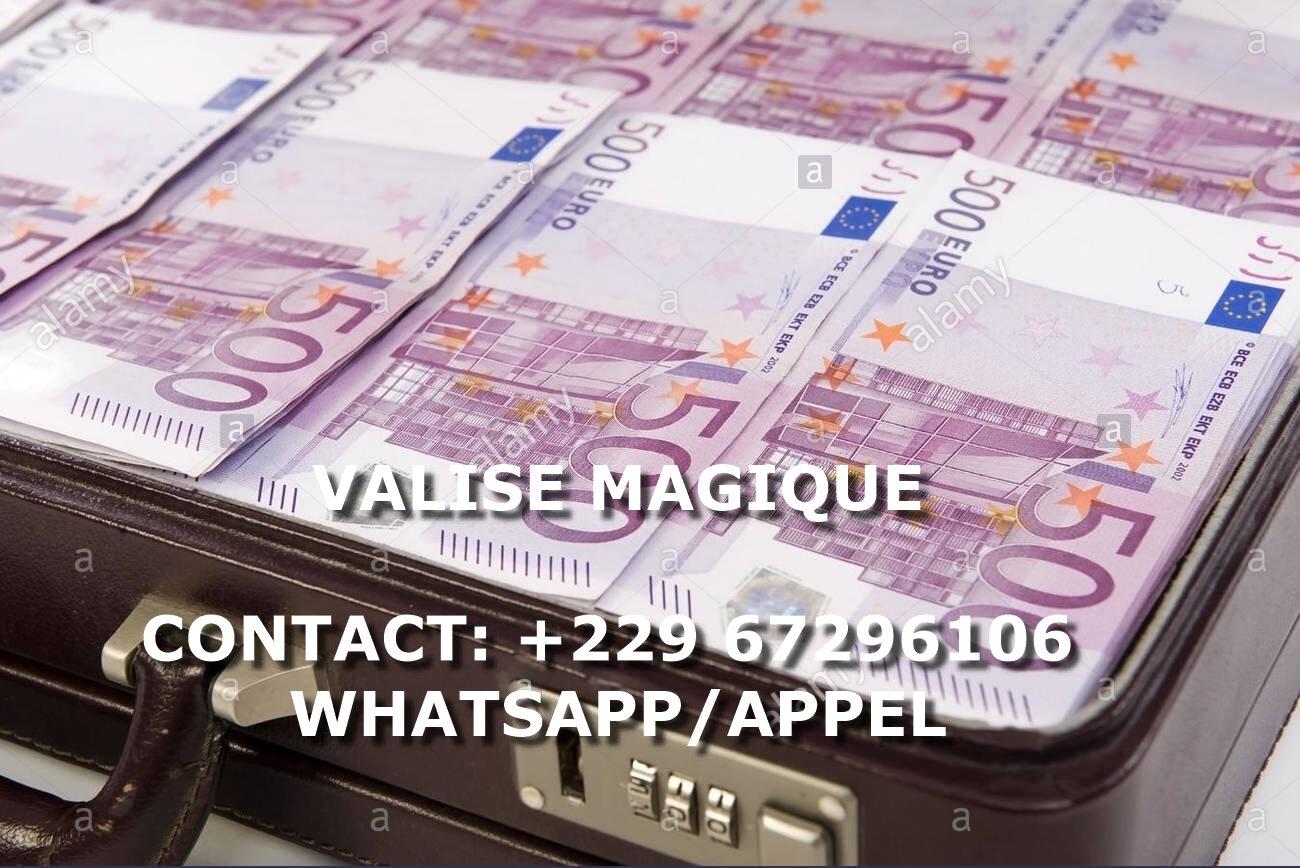 VALISE MAGIQUE D'ARGENT DU MAITRE MARABOUT ONI