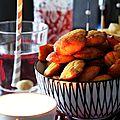 Mini madeleines apéro aux légumes