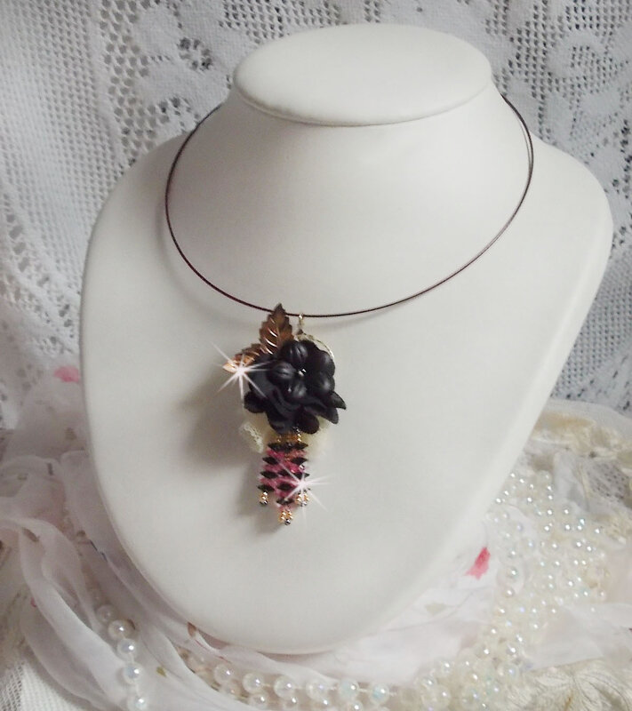 Collier pendentif Attrape-Rêves Léana 4-1