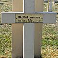 Baudat jean baptiste (saint gilles) + 19/04/1917 sapigneul (51)