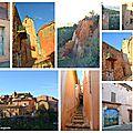 Balade à Roussillon, pays des ocres
