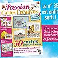 Le nouveau n°35 de passion cartes créatives est sorti !
