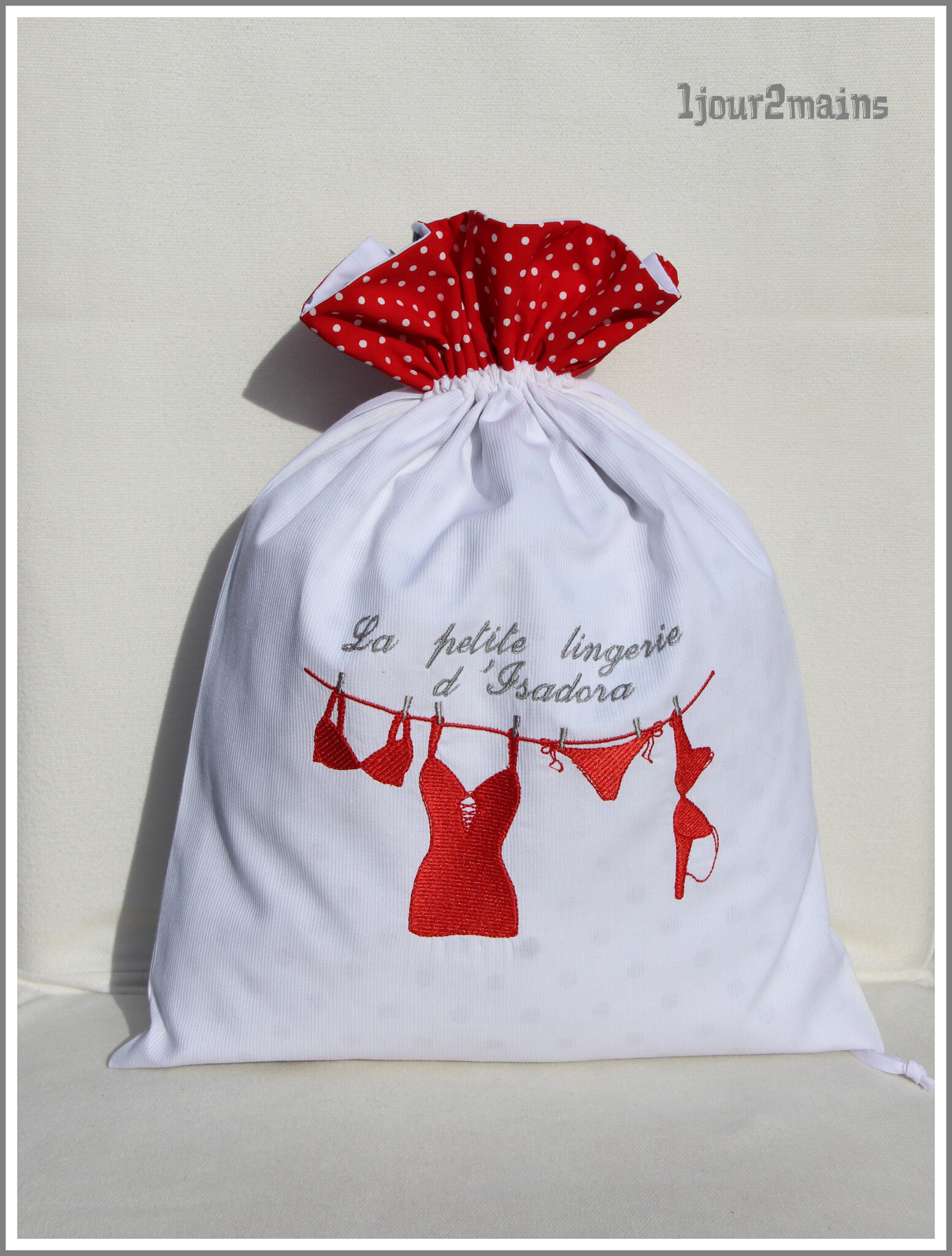sac lingerie isadora