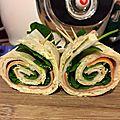 Wrap surimi mayo allégée