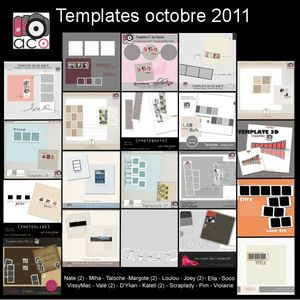 templates octobre 2011