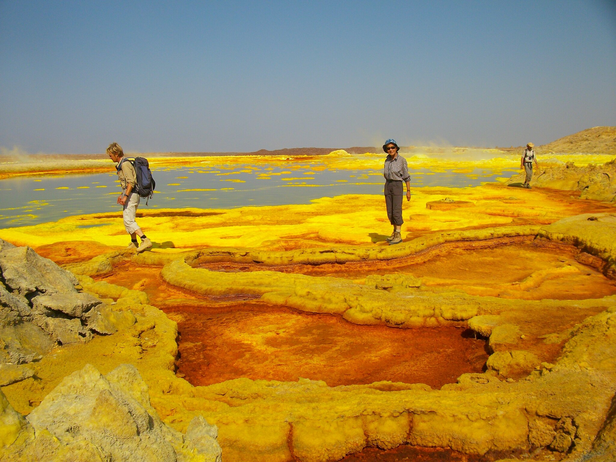 visitors of abyss landtour in danakil dallol