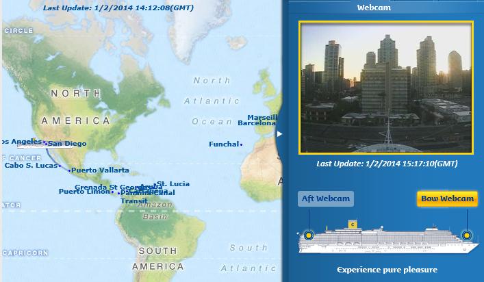 WEBCAM SAMEDI 1ER FEVRIER 2014 - SAN DIEGO
