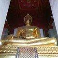 Bouddha dans le Wat Mongkhon Bophit, Ayuthaya