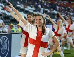 supportrice angleterre