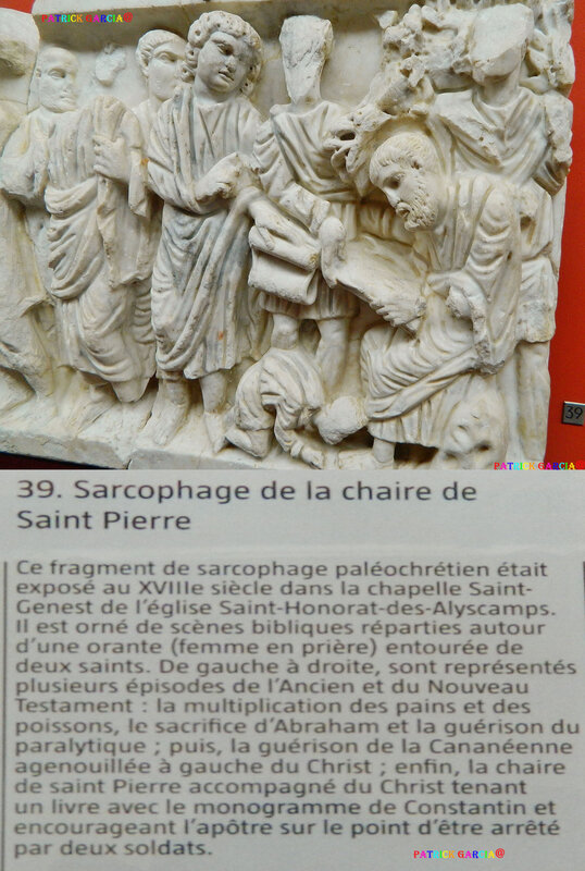 ARLES MUSEE SARCO CHAIRE ST PIERRE 190