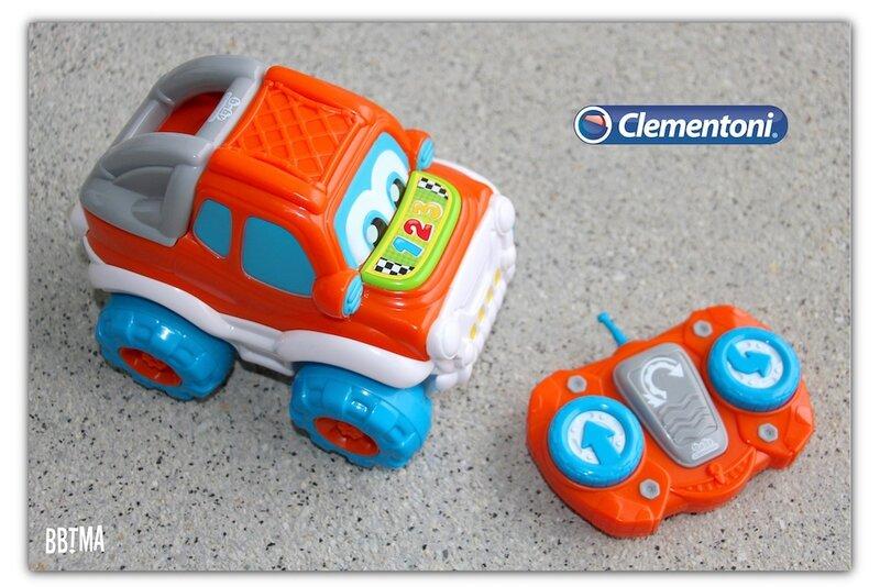 voiture théo l'auto culbuto clementoni télécommandée jouet roulade 2 ans 4 ans bbtma blog #10