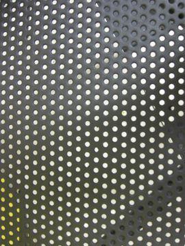 Table perforée détail