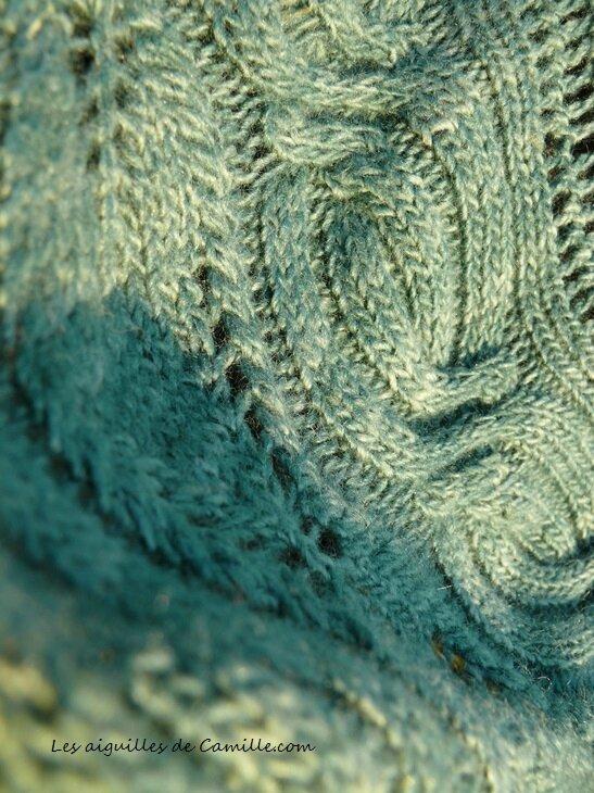 Bibracte Texture de la bordure
