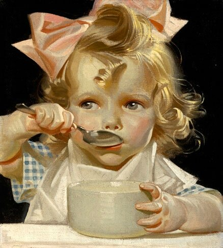 JC Leyendecker kelloggs-kid