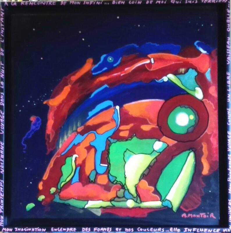 Printemps nocturne - Alain Montoir