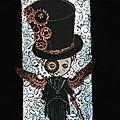 Léo dans le style steampunk