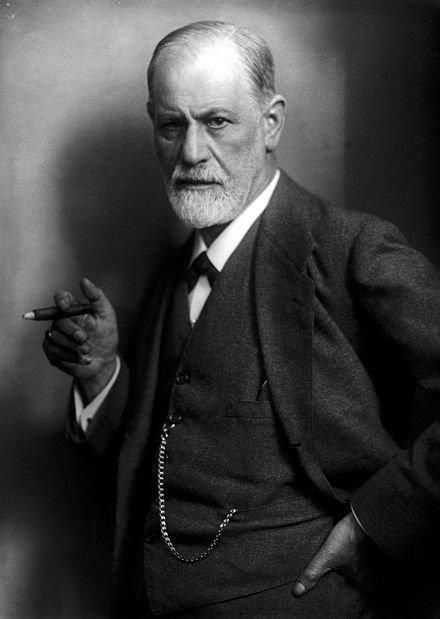 S Freud en 1922