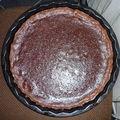 Gâteau fondant aux marrons et au chocolat