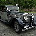 Bentley 3,5l park ward sports saloon 1933-1939