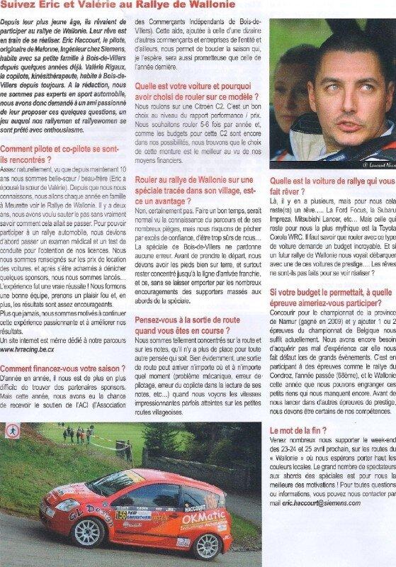 N°50 Remue-Méninges Profondeville - Avril 2010 - Page 10-border