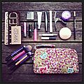 Trousse make up en vacances