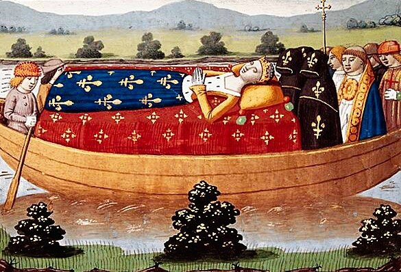 la mort d'Isabeau de Bavière