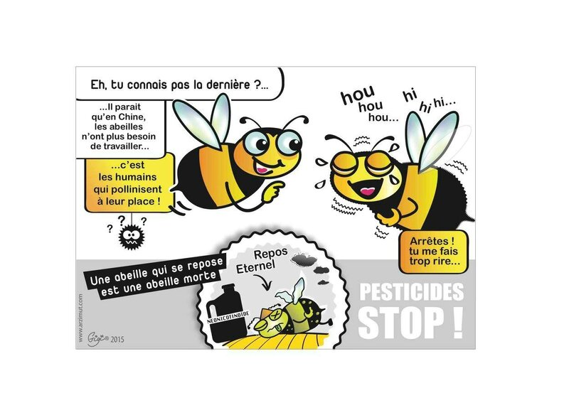 SemaineAlternativeAuxPesticides_DessinAbeilles2015_LutteContrelesPesticides