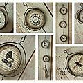 guirlande fil de fer, papier et tissu (36)