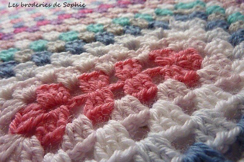couverture crochet granny (5)