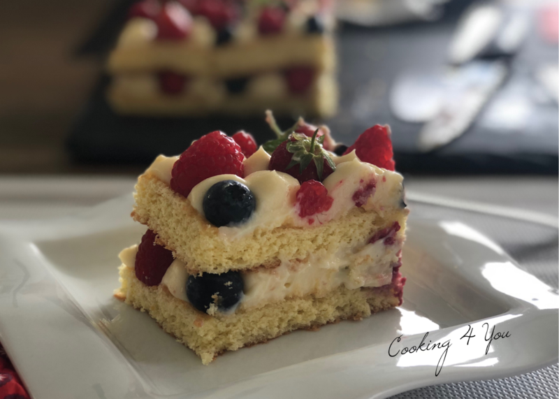 genoise fruits rouge 065