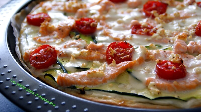 tarte courgette saumon5
