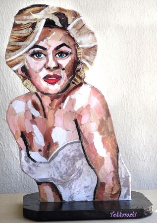 marilyn_sculpture_collage_face