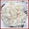 5- BOUQUETS DE MARIEES - roses stabilisées-pour inspiration,