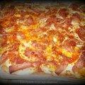 Pizza liquide au cantal