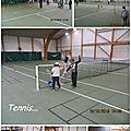 Cours de tennis pour les élémentaires