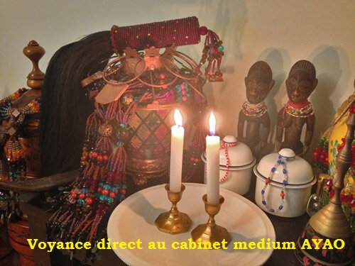 Voyance direct au cabinet du medium AYAO