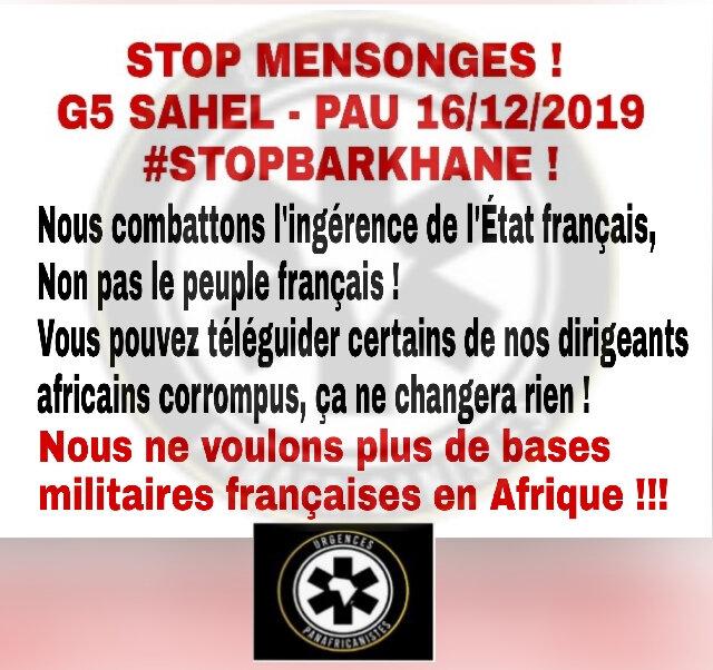 Message à mes frères Combattants Panafricains