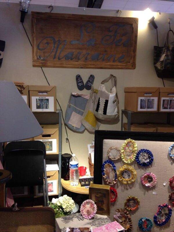 2016 - septembre - 22 au 25 - Stand La Fée Marraine au salon Créativa de Rouen - Photos prises par Anne-Sophie(9)