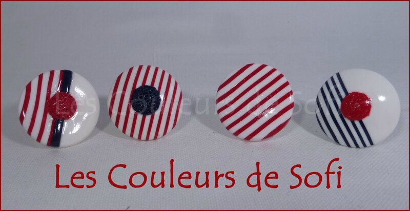 Bagues marin rouge