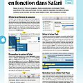 Flash et safari