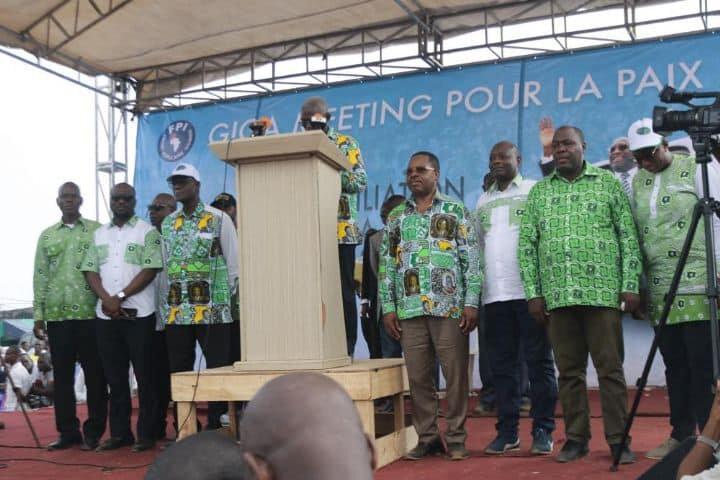 La place de Laurent GBAGBO n'est pas à Bruxelles, elle est ici en Côte d'Ivoire au côté de ses Frères et Sœurs de combat d'hier