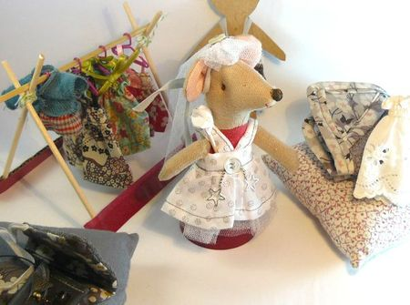 souris Maileg en robe de mariée (3)