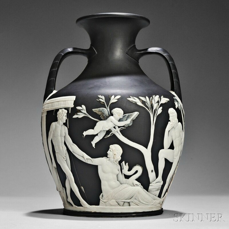 Special Collections Of Fine English Ceramics Lead Skinners Auction