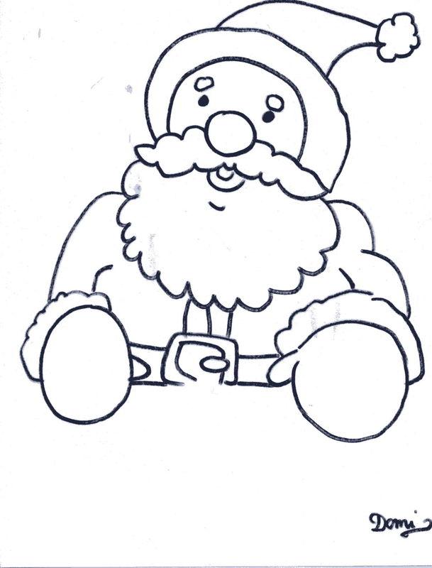 Comment Dessiner Un Pere Noel Domi Dessins Et Peintures