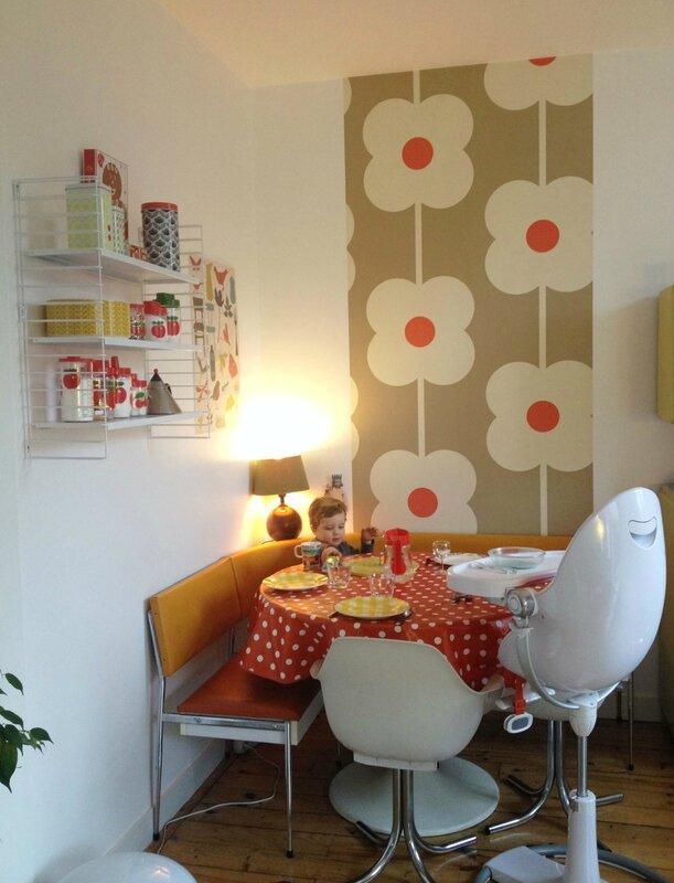 4-tapisserie Orla Kiely-étagère Hema-pot Henkel-
